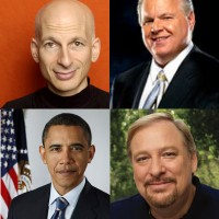 What do Seth Godin, Rush Limbaugh, Barack Obama, and Rick Warren Have in Common?