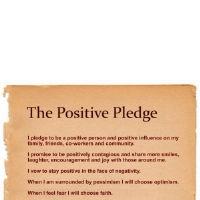 Take the Positive Pledge