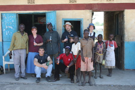 We stopped for sodas at the supermarket of East Pokot