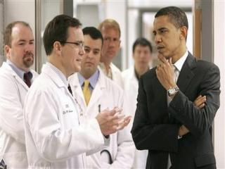 Obama doctors health care reform