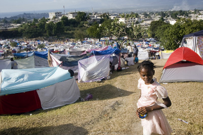 Haiti tent city