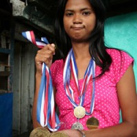 Emilda and medals