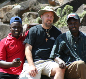 L-R: Victor, Paul, and Daniel in East Pocot, Kenya