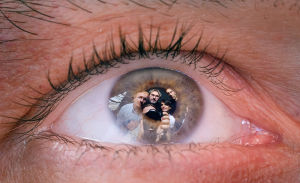 eye reflection perspective