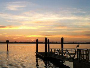 safety harbor, florida sunrise