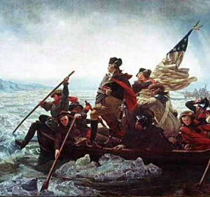 george washington crossing the deleware