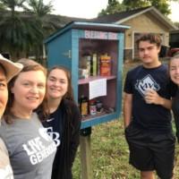 Steinbrueck family Blessing Box / Little Free Pantry Safety Harbor, FL