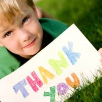 child thank you