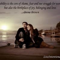 vulnerability quote - Brene Brown
